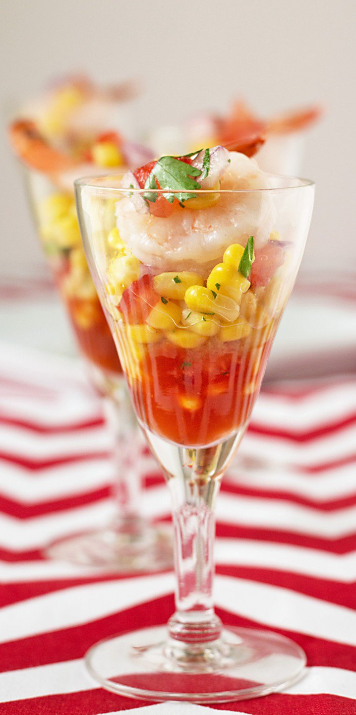 Shrimp and Corn Shooters Recipe