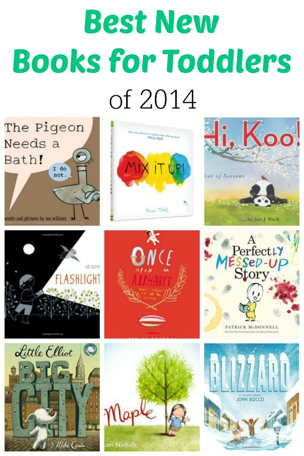 Best New Books for Toddlers of 2014 | Mommy Evolution
