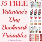 15 FREE Valentine's Day Bookmark Printables15 FREE Valentine's Day Bookmark Printables