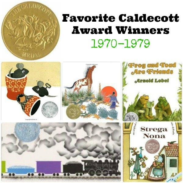 Favorite Caldecott Books 1970-1979 | The Jenny Evolution