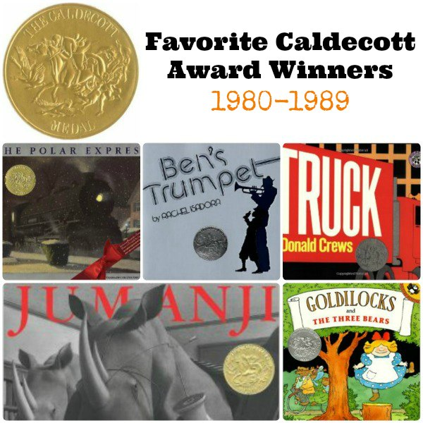 Favorite Caldecott Books 1980-1989 | Mommy Evolution