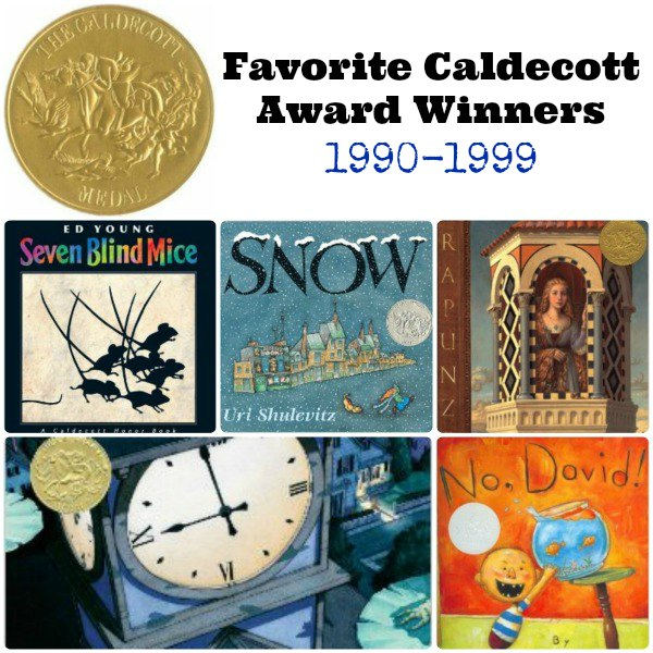 Favorite Caldecott Award Winners 1990-1999 | The Jenny Evolution