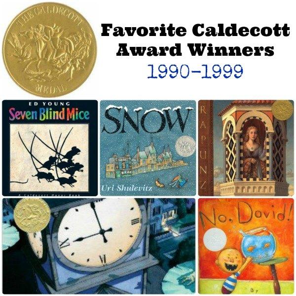 Favorite Caldecott Award Winners 1990-1999 | The Jenny Evolution