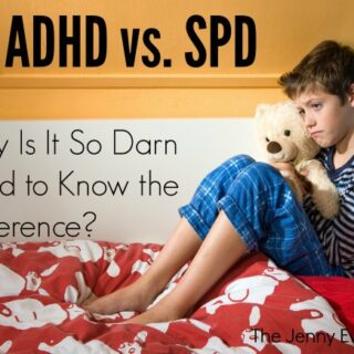 ADHD vs SPD: Why Is It So Darn Hard to Know the Difference?