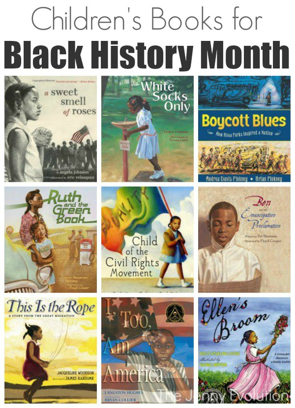 Children's Picture Books For Black History Month