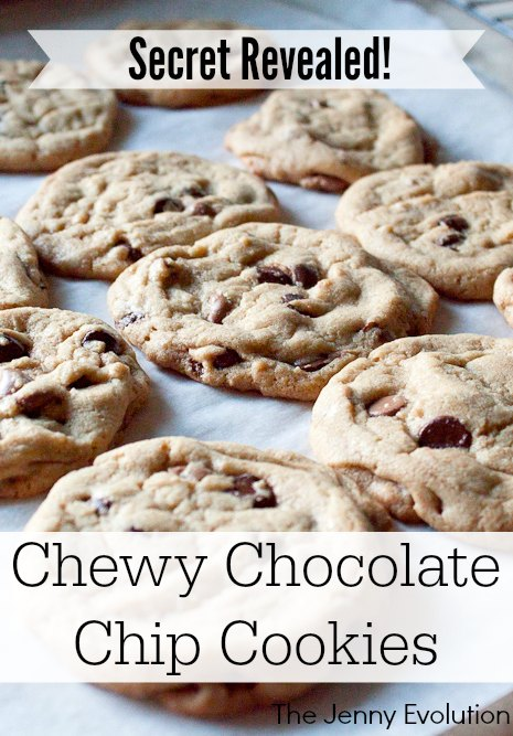 Secret Revealed! Perfect Chewy Chocolate Chip Cookies Recipe | Mommy Evolution