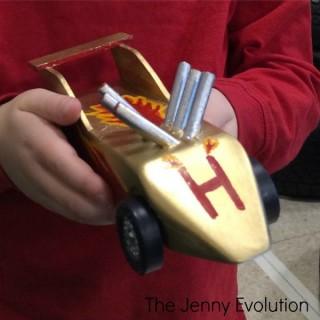 Cub Scouts Pinewood Derby Competition