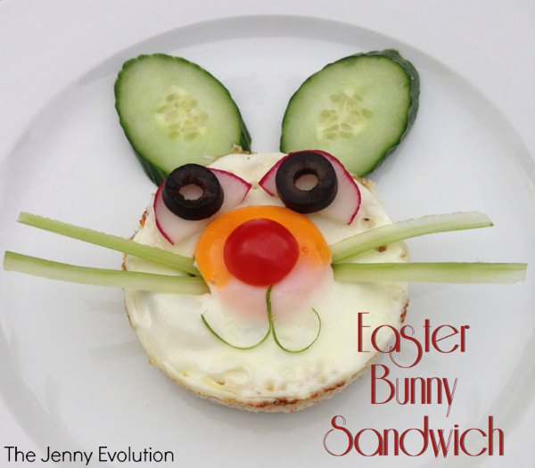Easter Bunny Sandwiches: Fun Food for Kids! | Mommy Evolution