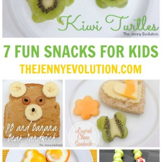 7 Fun Snacks for Kids | The Jenny Evolution