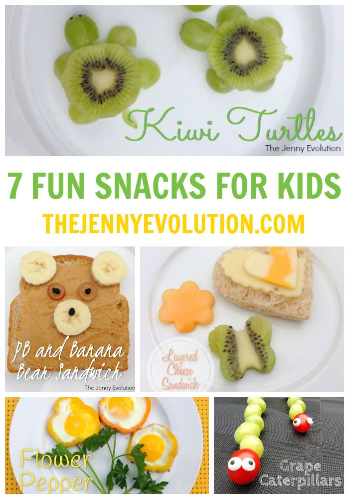 7 Fun Snacks for Kids | Mommy Evolution