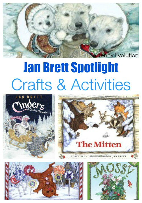 Jan Brett Author Spotlight: Books, Crafts & Activities   The Jenny Evolution