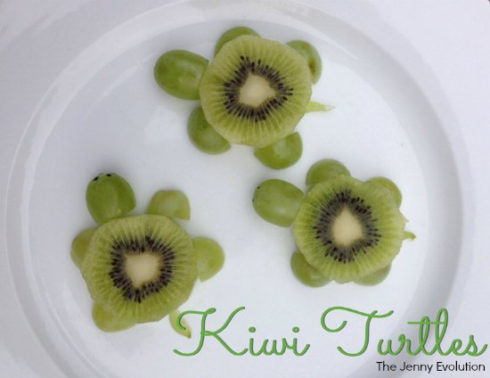 Kiwi Turtles: Fun Food for Kids | The Jenny Evolution