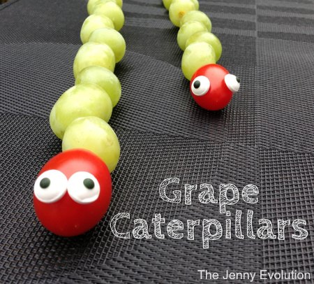 Grape Caterpillars: Fun Food for Kids! | The Jenny Evolution
