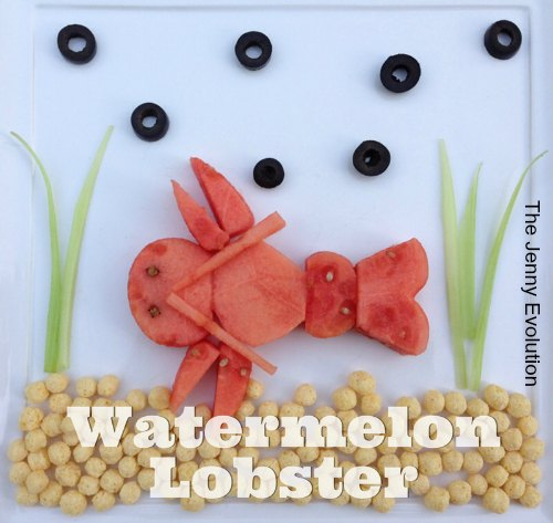 Watermelon Lobster: Fun Food for Kids! | The Jenny Evolution