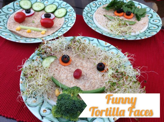 Tortilla Faces: Fun Food for Kids | Mommy Evolution