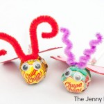 Handmade Love Bug Lollipop Valentines | The Jenny Evolution