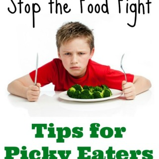 Stop the Food Fights: Tips for Picky Eaters