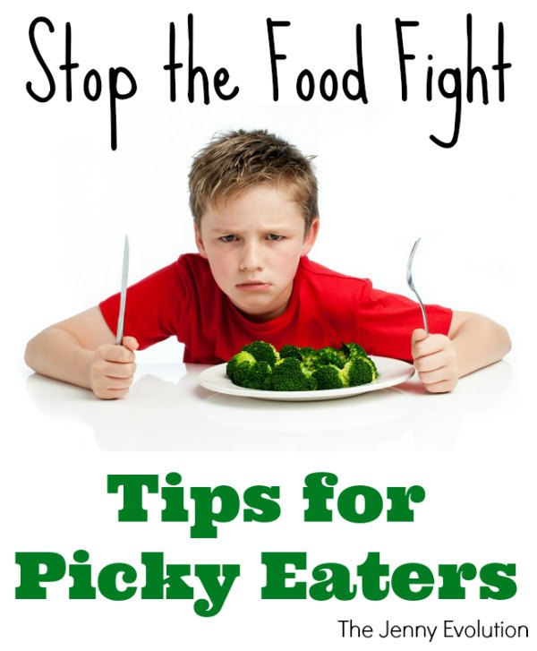 Stop the Food Fight! Tips for Picky Eaters   The Jenny Evolution