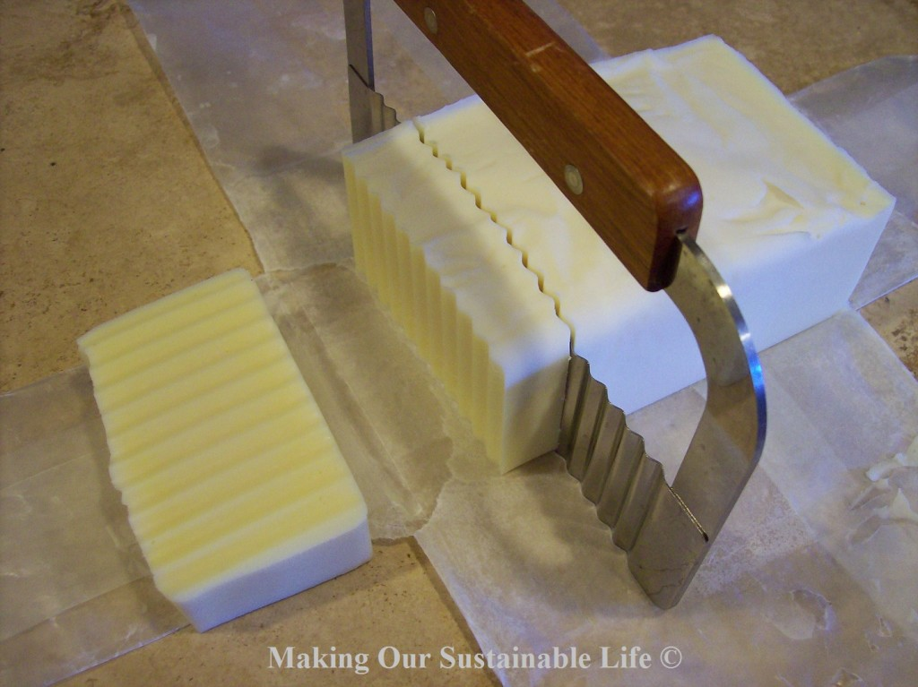 WAIT A MINUTE! She made soap out of WHAT? Tutorial from Making Out Sustainable Life