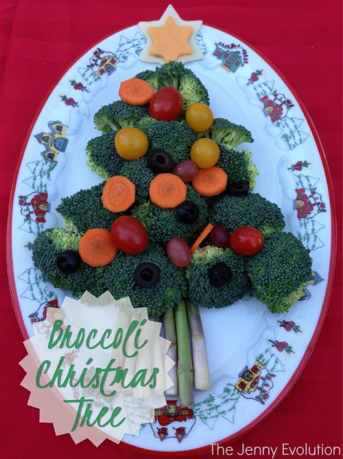 Broccoli Christmas Tree | Mommy Evolution