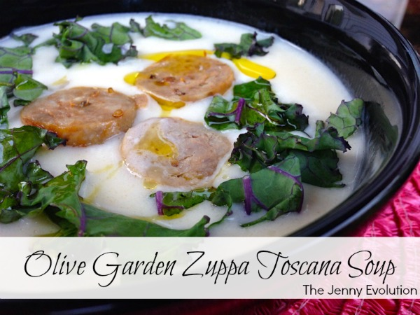 Copycat Olive Garden Zuppa Toscana Soup Recipe - Italian Sausage Soup with Kale | Mommy Evolution