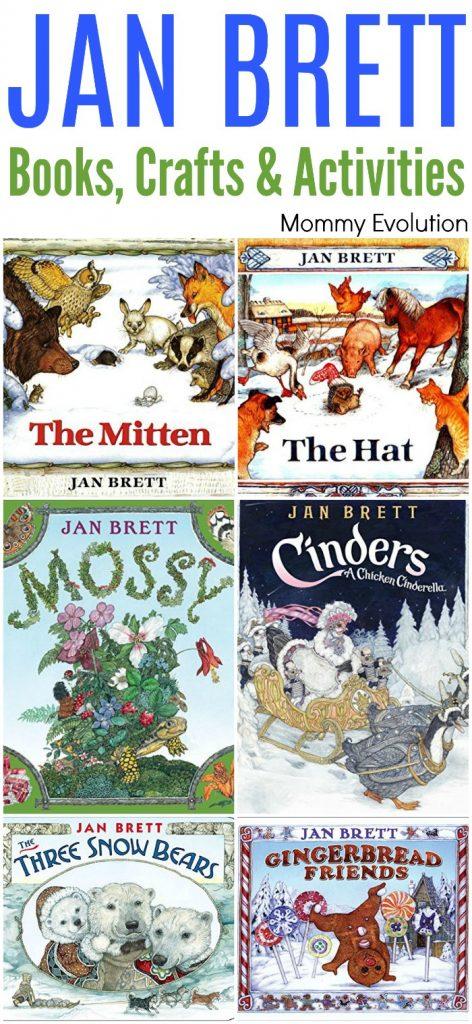 Children's author Jan Brett Books, Crafts and Activities Unit Study | Mommy Evolution