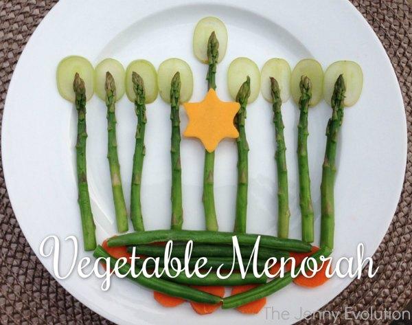 Edible Hanukkah Menorah | The Jenny Evolution