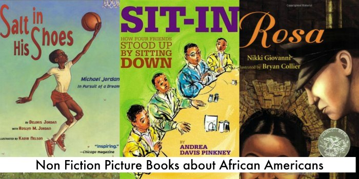 Non fiction picture books about African Americans