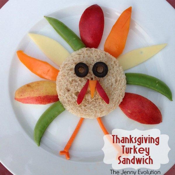 Thanksgiving Turkey Sandwich: Fun Food for Kids! | Mommy Evolution
