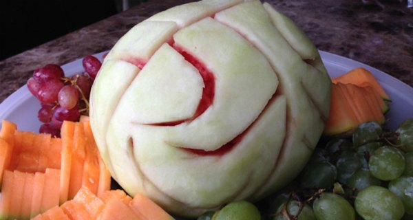 Scary Foods! Halloween Watermelon Brain
