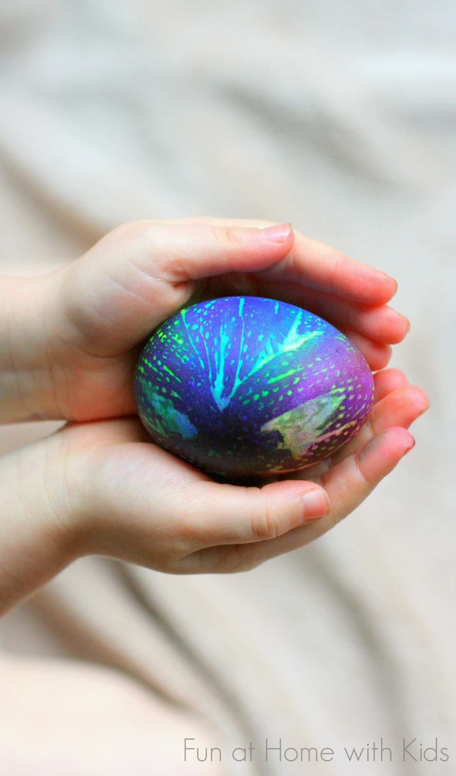 Tie-Dyed Easter Eggs | Fun at Home with Kids