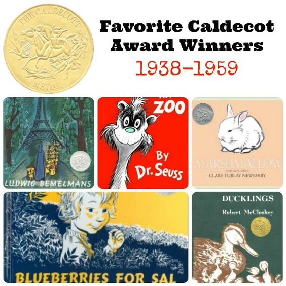 Favorite Caldecott Books 1938-1959