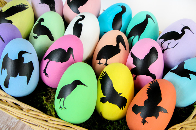 Bird Nest Easter Eggs | The Thinking Closet