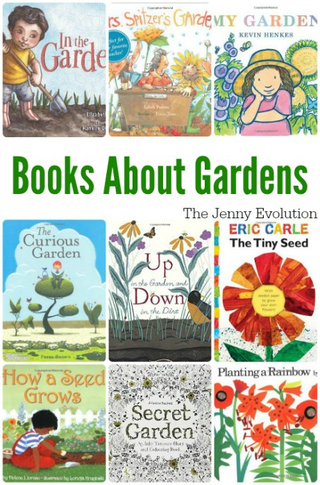 Welcome Spring! Picture Books about Gardens for Kids | The Jenny Evolution