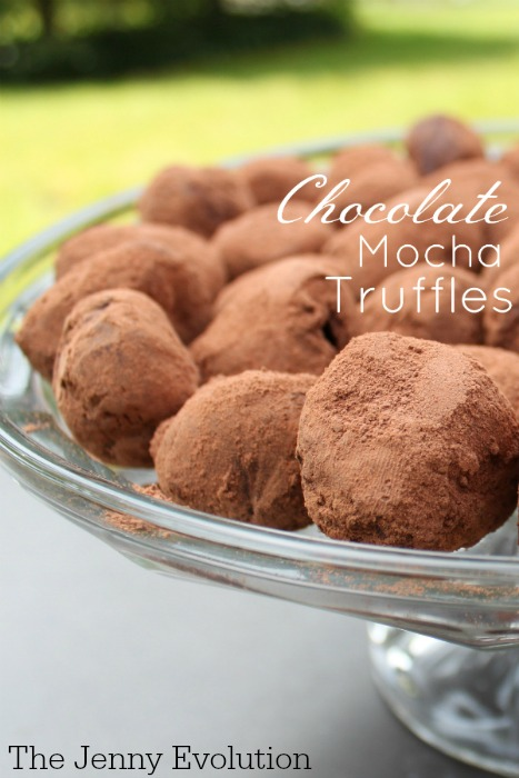 Chocolate Mocha Truffles Recipe | The Jenny Evolution