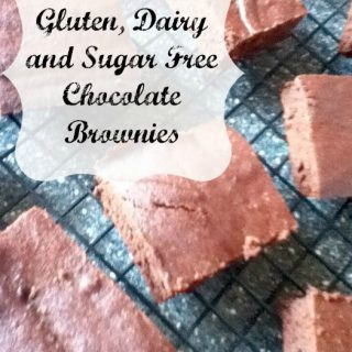 Gluten, Dairy, Sugar Free Brownies