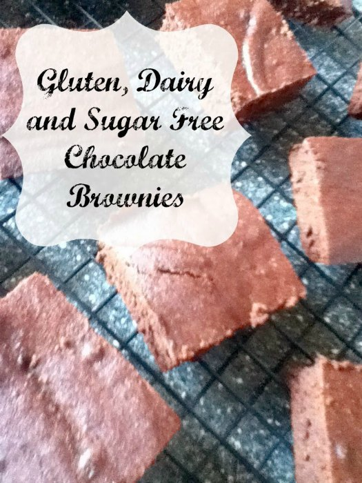 Gluten, Dairy, Sugar Free Chocolate Brownies | The Jenny Evolution