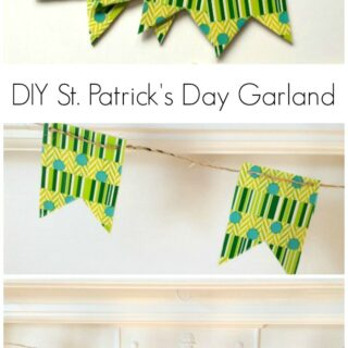 DIY Saint Patrick's Day Garland
