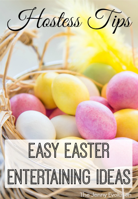 Easy Easter Entertaining Tips | Mommy Evolution