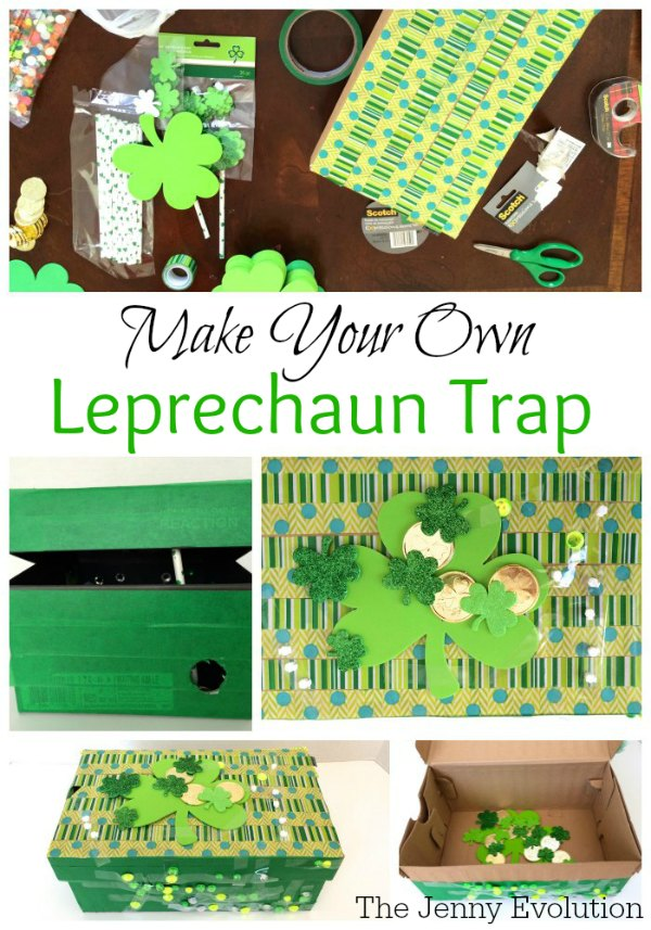Make Your Own Leprechaun Trap - A St. Patrick's Day Craft with the Kids | Mommy Evolution