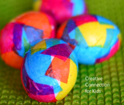 Modge Podge Easter Eggs | Creative Connection for Kids