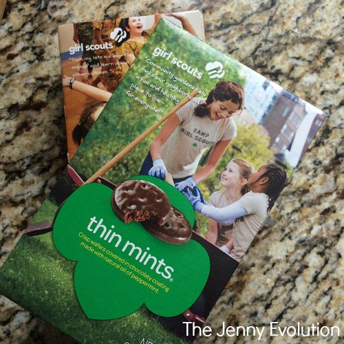 Girl Scout Cookies Have Arrived! The Jenny Evolution