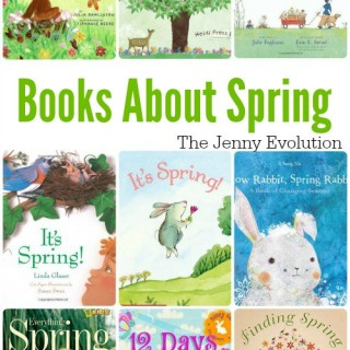 Children's Picture Books About Spring | The Jenny Evolution