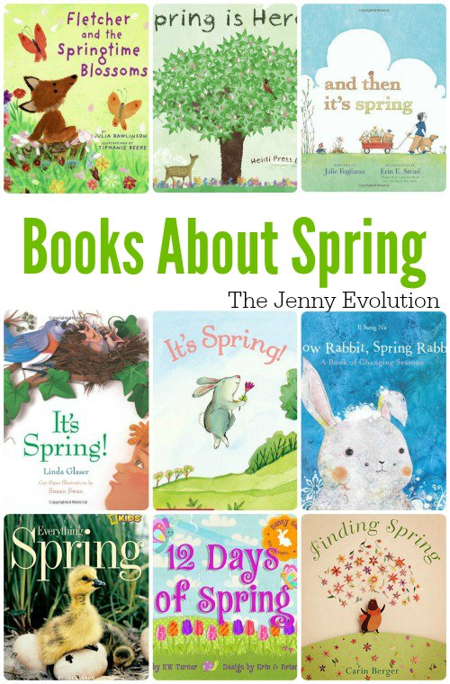 Children's Picture Books About Spring | Mommy Evolution