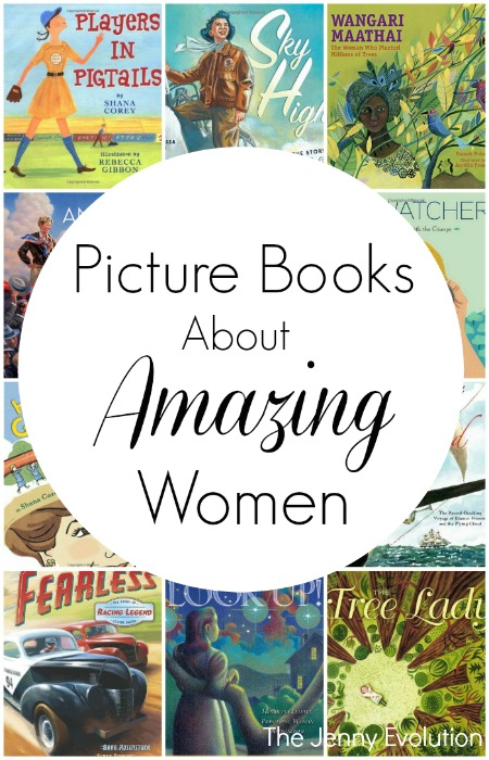 20 Non Fiction Picture Books About Amazing Women | Mommy Evolution