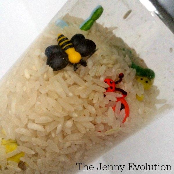 DIY Spring Sensory Bottles | The Jenny Evolution