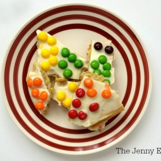 Skittles Rainbow Sugar Cookies Bark Recipe