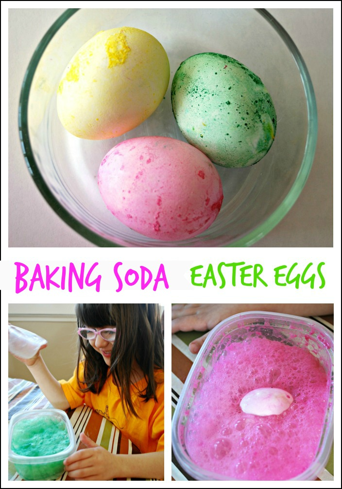 Baking Soda Easter Eggs | Mess for Less