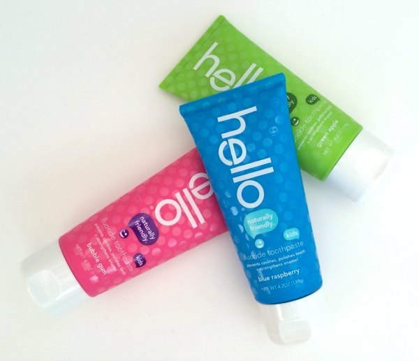 All Natural hello Toothpaste Makes My Family Smile