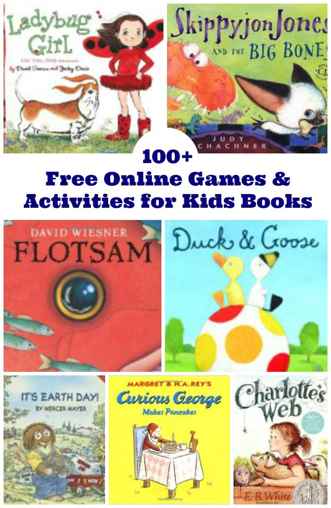 100+ Free Online Games & Activities for Kids Books. Compiled by Edventures with Kids